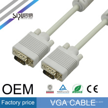 SIPU factory price strandard Cu 3+4 vga cable wholesale computer cable vga audio video cables